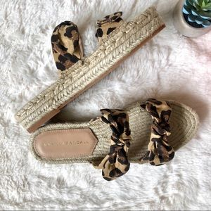 Loeffler Randall Daisy Open Toe Espadrille Sandals